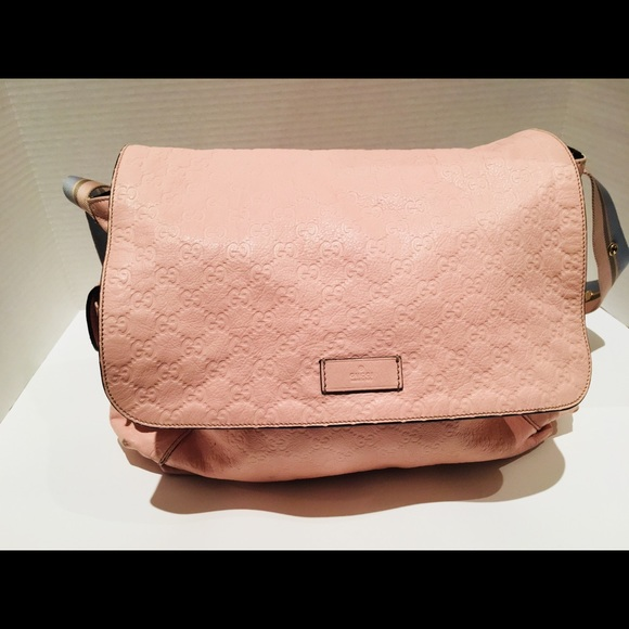105fa55d052 Gucci Other - Authentic Gucci pink diaper bag